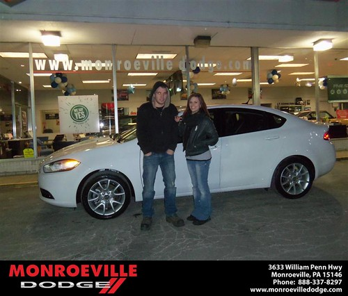 Congratulations to Leanne Powers on the 2013 Dodge Dart by Monroeville Dodge