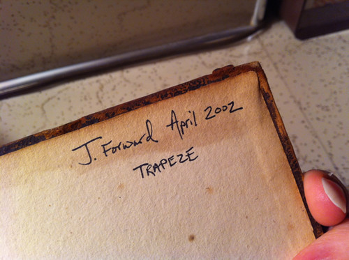 Julie's Trapeze photograph