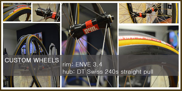 Custom Built Wheels - ENVE 3.4 DT Swiss
