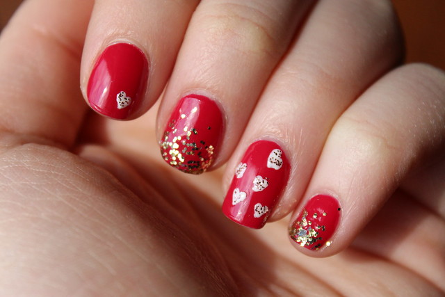 Living After Midnite: Red Hot Love Nails