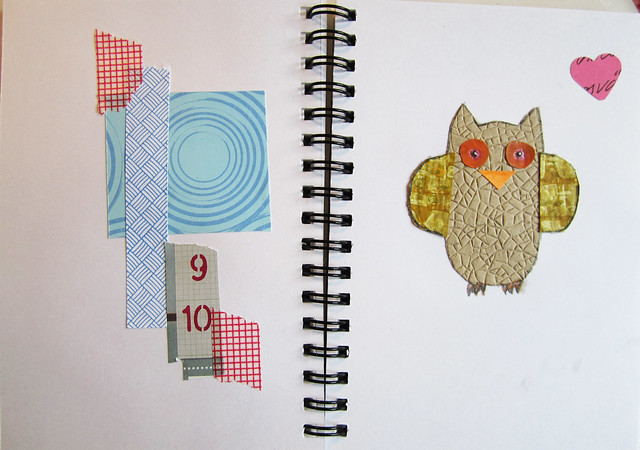 Bits & Owl Love collage by @ihanna #collage