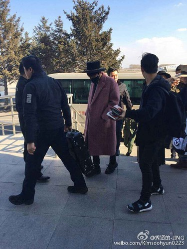 Big Bang - Harbin Airport - 21mar2015 - Kimsoohyun0223 - 02