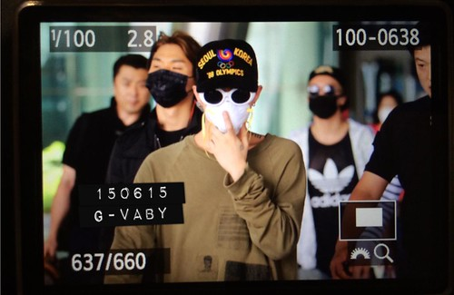 Big Bang - Incheon Airport - 15jun2015 - G_Vaby - 03