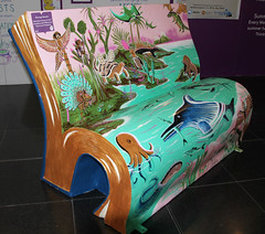 Book Benches 43 - Strange Beasts