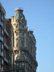 Ansonia Apartment Building Detail 3814