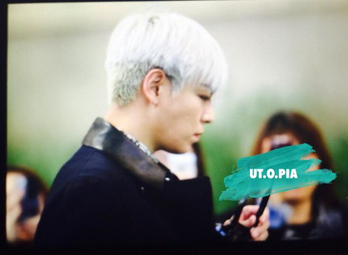 Big Bang - Gimpo Airport - 15jan2015 - TOP - Utopia - 02