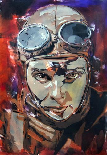Katherine Hepburn pilot by BTOYandrea