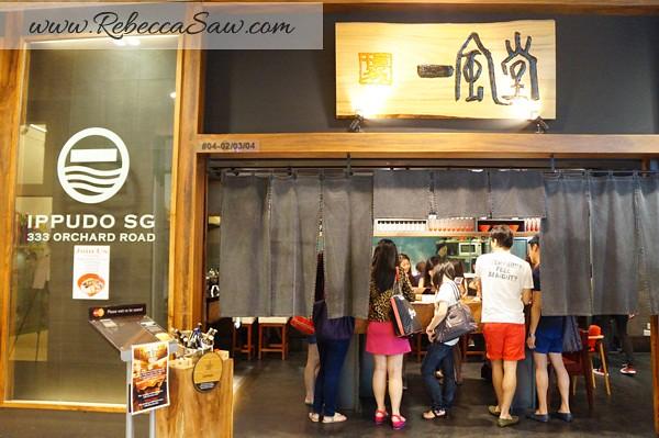 ippudo ramen - mandarin gallery Singapore (2)
