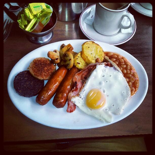 Desayuno irlandés o Irish Breakfast