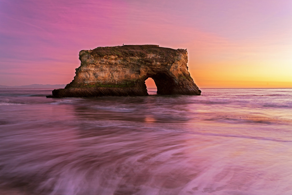 Arch at Natural Bridges