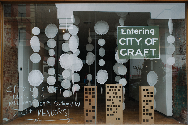 Entering City of Craft