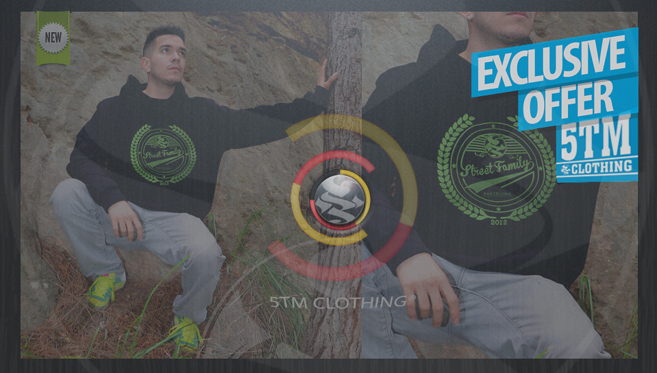 5TM CLOTHING®  // Hoodies // sudaderas con capucha