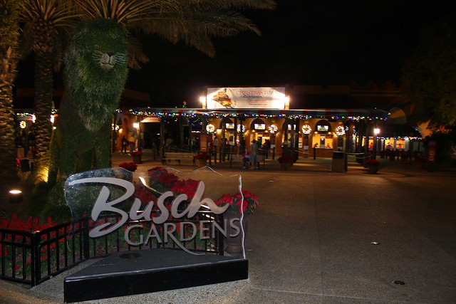 Christmas town at busch gardens tampa flickr photo - Busch gardens tampa christmas town ...