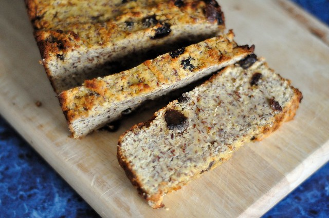 Paleo Flax and Raisin Breakfast Bread - Kohler Created