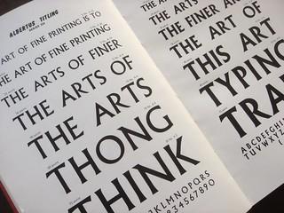 Riscatype type specimen book