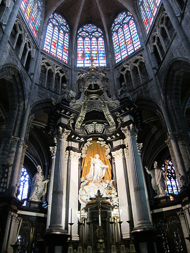 Saint Bavo altar