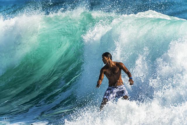 Surfing Burleigh #12