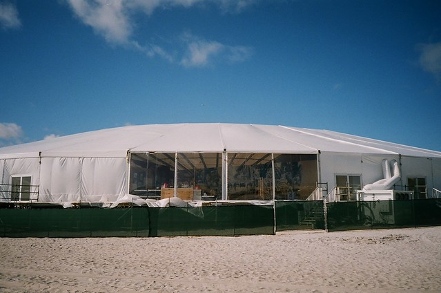 Art Basel Tent On Beach Walgreens Fuji 200 Film And A