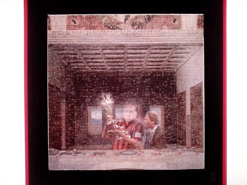 """Il quadro dal titolo """"Centrocampo"""" alla Triennale by Ylbert Durishti"""
