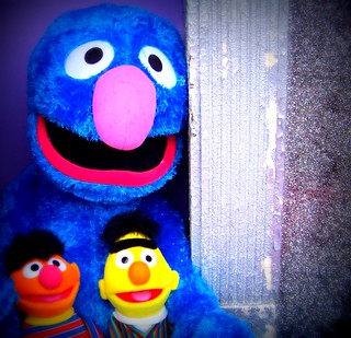 Grover as Sesame Street Savior