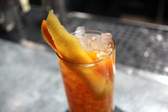 The Eveleigh's Iced Sherry Tea by Caroline on Crack