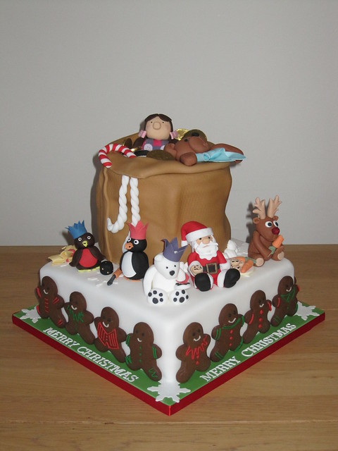 Novelty Christmas Cake Images : Novelty Christmas Cake Flickr - Photo Sharing!