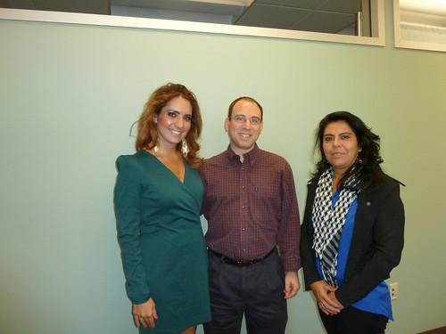 Cynthia Moreno, Eric Goldman, Maria
