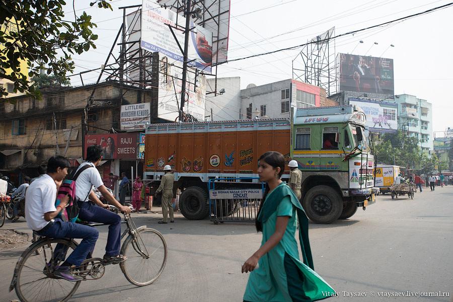 People walking in Kolkata
