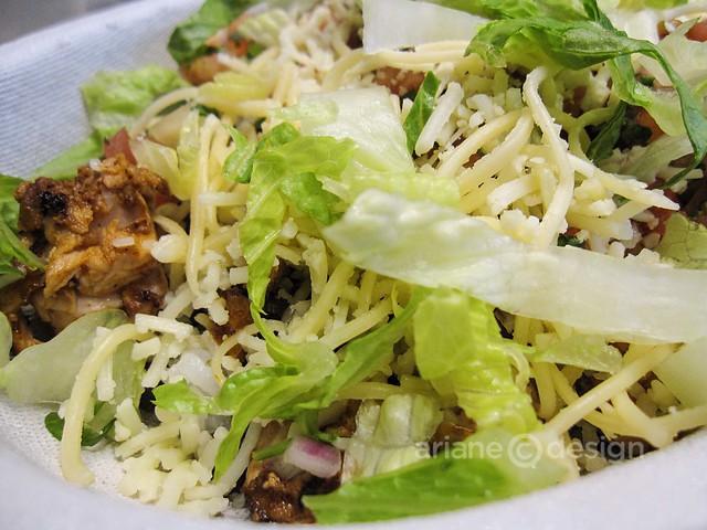 Chipotle's chicken burrito bowl