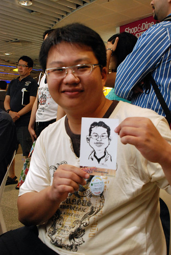 digital live caricature sketching for iCarnival (photos) - Day 1 - 111