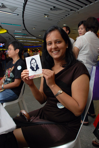 digital live caricature sketching for iCarnival (photos) - Day 1 - 102