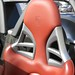 Porsche Carrera GT in GT Silver Metallic in Beverly Hills California headrest
