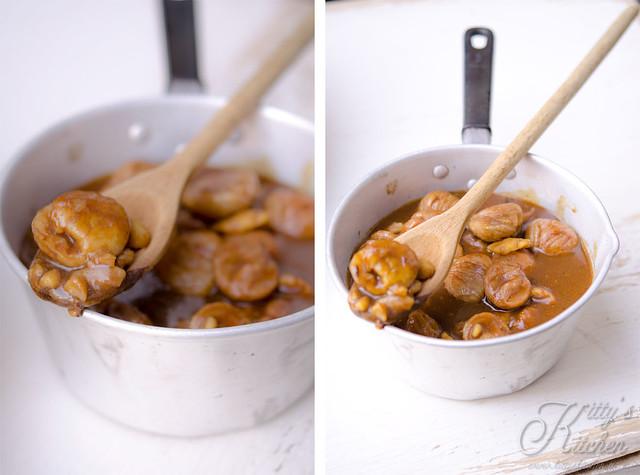 salsa alle castagne