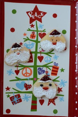 三種不一樣的聖誕老公公