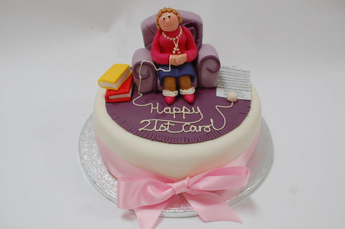 Knitting Granny Cake Beautiful Birthday Cakes