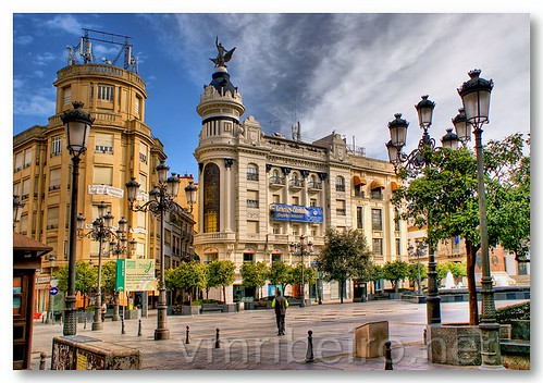 Plaza de las Tendillas by VRfoto