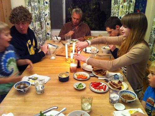 solstice dinner
