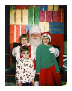 Christmas with Santa — 1997