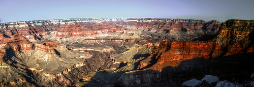 Grand Canyon HDR Panorama from S. Rim