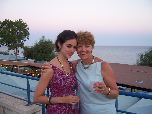 Me and mum in Cyprus 2008