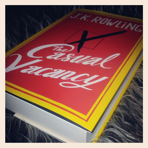 Xmas gift from Markus parents: The Casual Vacancy