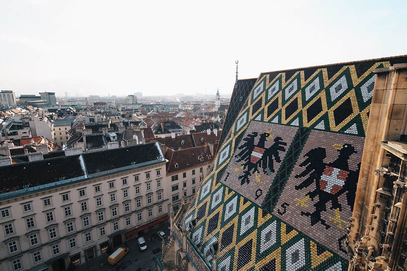 Roof of St. Stephen's Cathedral.