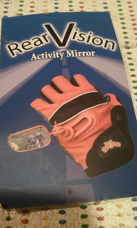Rear Vision Activity Mirror cycling gloves