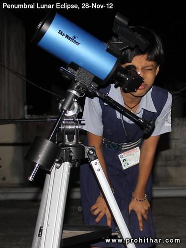 Penumbral Lunar Eclipse, India, Chennai, Tambaram