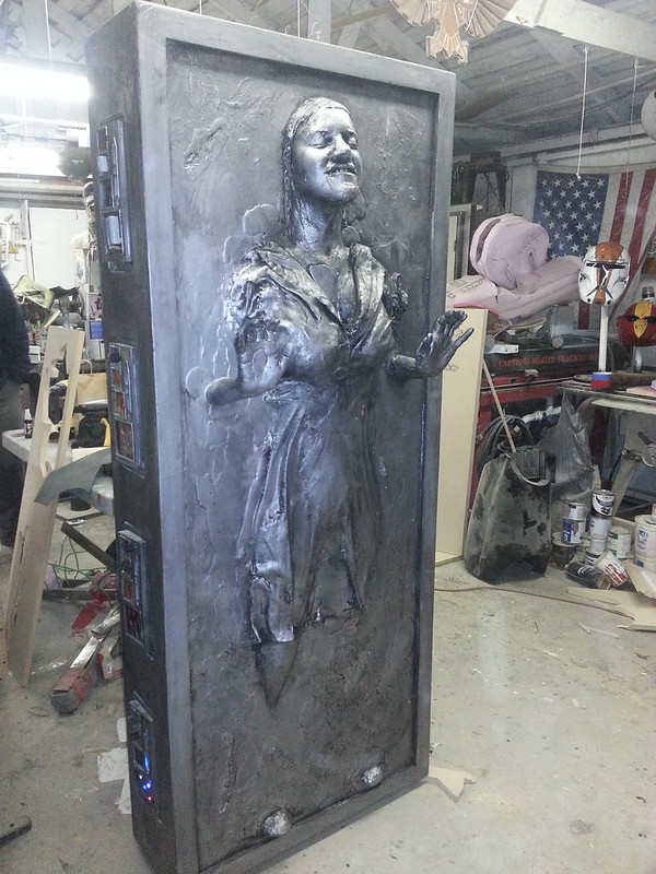 Jenny in Carbonite Finished Right