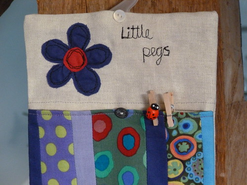 Little peg bag detail