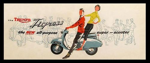 1963 Triumph Tigress by bullittmcqueen