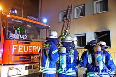 Wohnungsbrand Dotzheim 01.01.13
