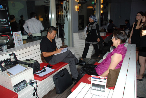 caricature live sketching for Kaleido Vision Pte Ltd Product Launch - 4