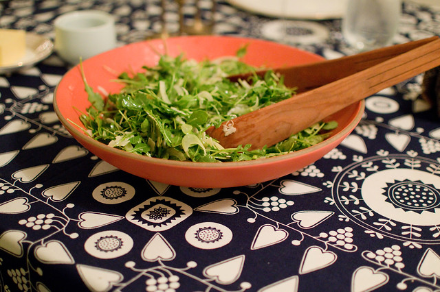 arugula and fennel salad